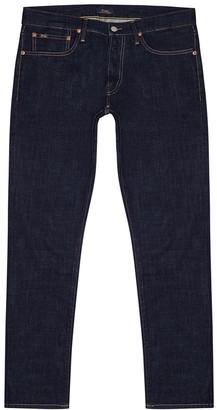 Polo Ralph Lauren Sullivan dark blue slim-leg jeans