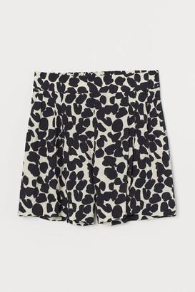 H&M Shorts High Waist - Beige