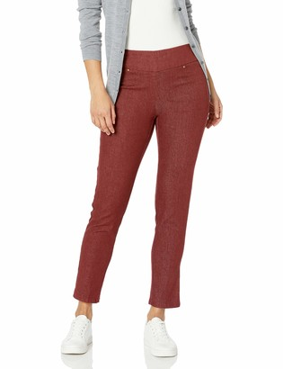Ruby Rd. Women's Petite Pull-on Colored Extra Stretch Denim Pant