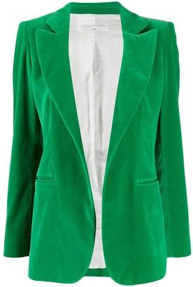 Victoria Beckham open front fitted blazer