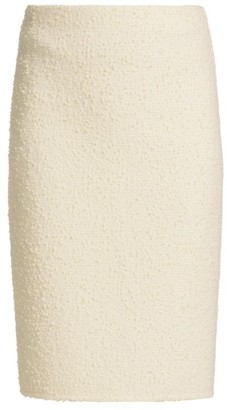 Marc Jacobs Boucle Knit Pencil Skirt