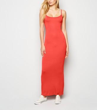 New Look Strappy Bodycon Maxi Dress