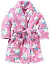 Hello Kitty fleece robe - toddler