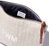 Gaia Personalized Clutch Handbag in White
