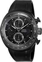 Oris Men's 674 7611 7764RS TT3 Chronograph Carbon-Fiber Dial Watch