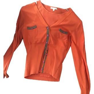 Paule Ka Orange Silk Knitwear for Women