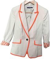 Laurèl Beige Cotton Jacket for Women