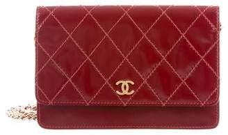 Chanel Diamond Stitch Wallet On Chain