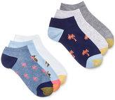 Gold Toe Women's 6-Pk. Beach Novelty Liner Socks