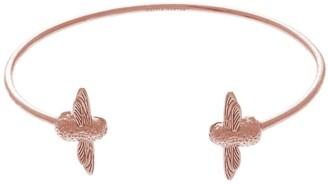 Olivia Burton White Dial Watch & Bangle Gift Set