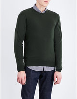 SLOWEAR Fine-knit wool and cashmere knitted jumper