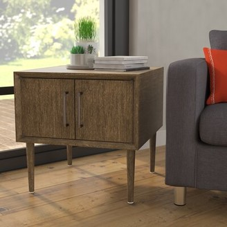 Langley StreetTM Napoleon End Table with Storage Langley Street