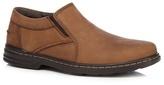 Hush Puppies Brown 'alan Hanston' Slip-on Shoes