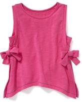 Old Navy Side Bow-Tie Tank for Toddler