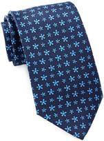 Tailorbyrd Silk Flowers Tie