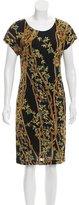 Class Roberto Cavalli Printed Knee-Length Dress