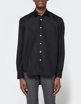 Our Legacy First Shirt Black Poplin