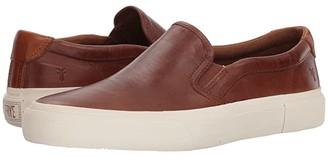 Frye Ludlow Slip-On (Cognac Goat Pull Up) Men's Slip on Shoes
