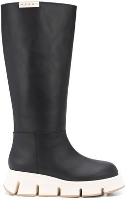 Marni Ridged Boots