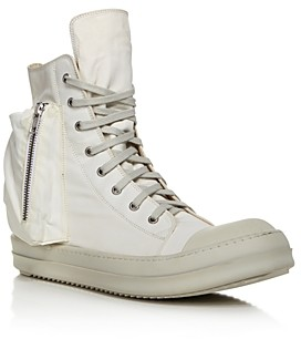 Rick Owens Drkshdw Men's Bauhaus High-Top Sneakers