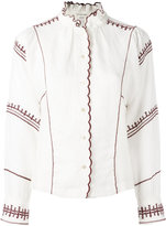Etoile Isabel Marant Delphine shirt - women - Linen/Flax/Polyester - 36