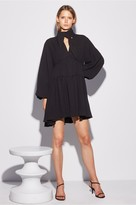C/Meo Collective CHAPTER ONE LONG SLEEVE DRESS black