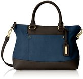 Tignanello Smooth Operator Convertible Satchel Top Handle Bag