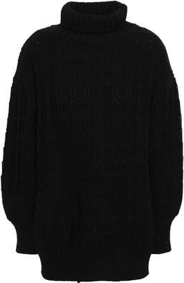 Alberta Ferretti Virgin Wool Turtleneck Sweater