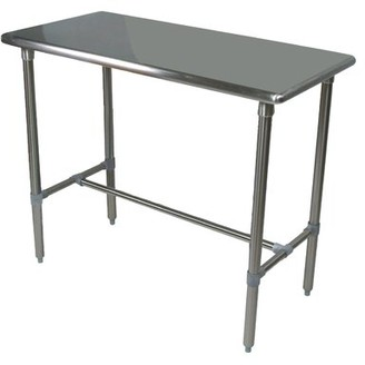 "John Boos Cucina Americana Classico Counter Height Pub Table Tabletop Size: 48"" W x 24"" D"