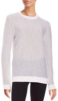 DKNY Striped Merino Wool Sweater