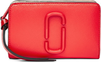 Marc Jacobs The Snapshot Compact Leather Wallet
