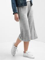 Gap Softspun wide-leg crop pants