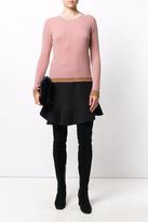 Roberto Collina Rose Ribbed Sweater