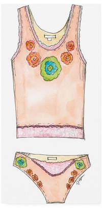 "Jennifer Goldberger Fun Wear Ii Childrens Art Canvas Art - 19.5"" x 26"""