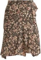 Isabel Marant Becka floral-print skirt