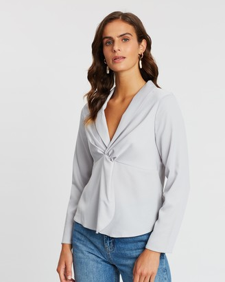 Dorothy Perkins Front Twisted Plunge Top