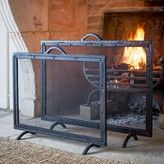 Graham and Green Wrought Iron Fire Screens