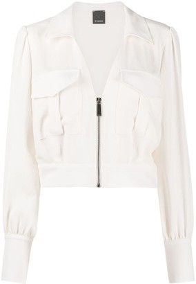 Pinko Zipped Lightweight Jacket