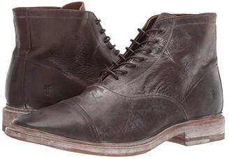 Frye Paul Lace-Up (Cognac Antique Pull Up) Men's Shoes