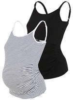 George 2 Pack Maternity Nursing Vests