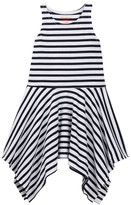 Joe Fresh Striped Handkerchief Dress (Big Girls)