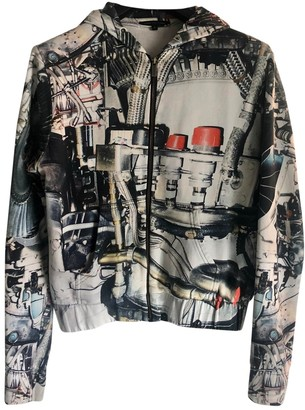 Christopher Kane Grey Cotton Knitwear & Sweatshirts