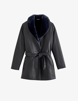 Claudie Pierlot Fidele shearling coat