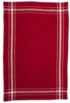 """Sur La Table Check Border Linen Kitchen Towel, 28"""" x 18"""""""