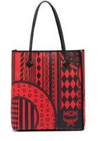 MCM Kira Baroque Print Ns Shopper