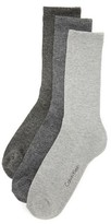 Calvin Klein Underwear 3 Pack Cushion Sole Crew Socks