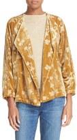 Elizabeth and James Women's Audrey Floral Velvet Jacket