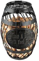 Wine Enthusiast Companies Wine A Little Wine Barrel Cork Catcher