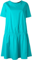 Odeeh gathered T-shirt dress - women - Cotton - 38