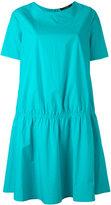 Odeeh gathered T-shirt dress - women - Cotton - 40